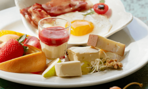 Food bruck Cheese fruits