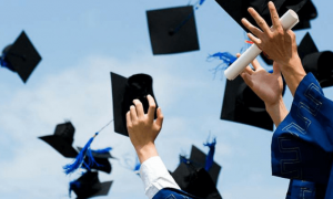 Graduated students hat