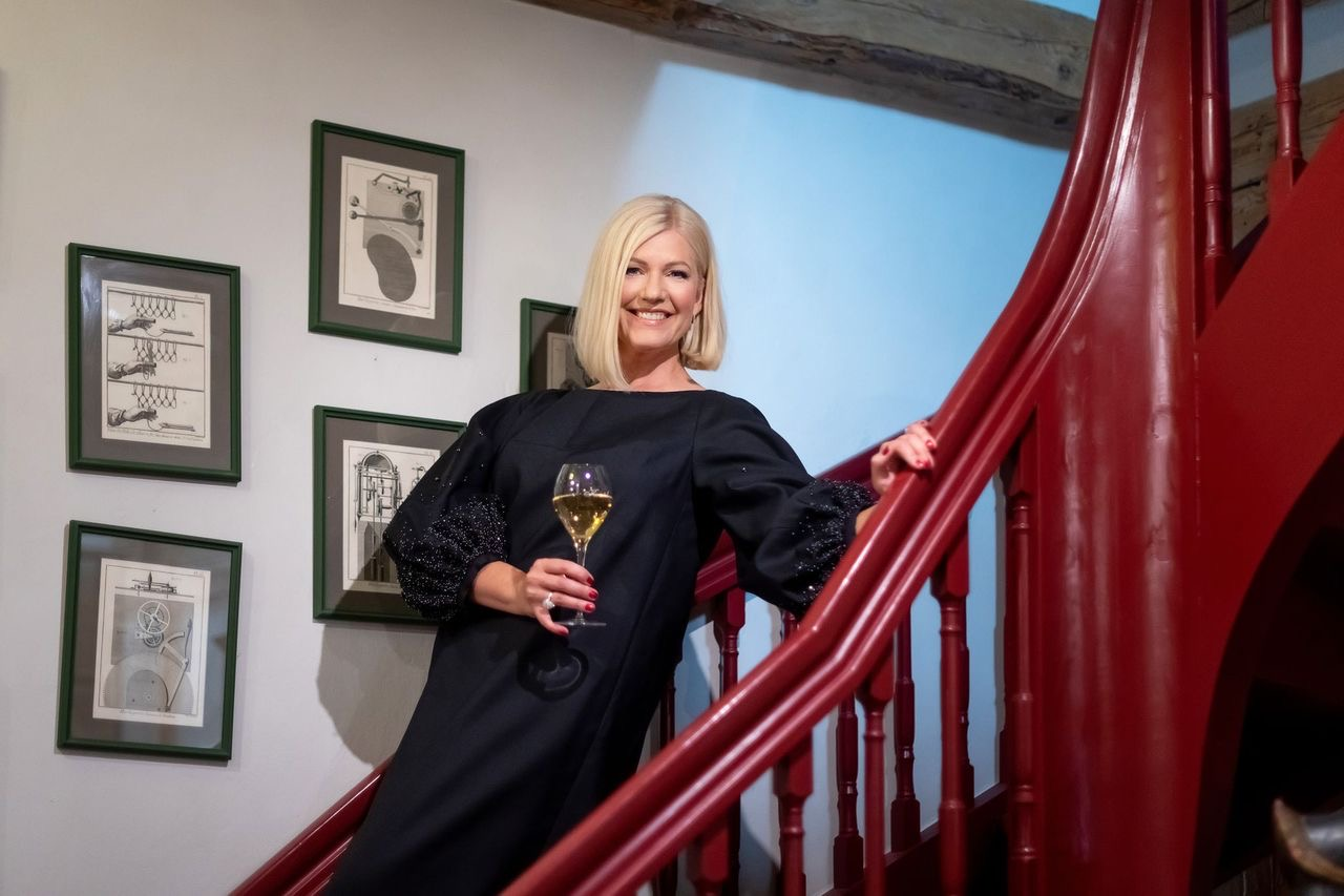 šampanja Kristel Voltenberg