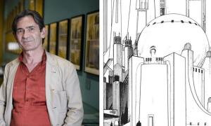 Loeng arhitektuurist ja koomiksikunstist Arhitektuurimuuseumis