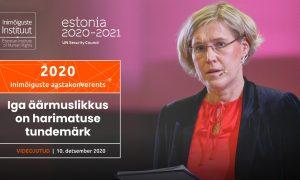 Inimõiguste aastakonverents 2020