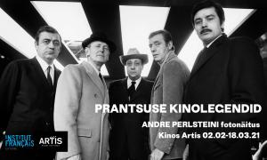Prantsuse kinolegendid_André Perlsteini fotonäitus