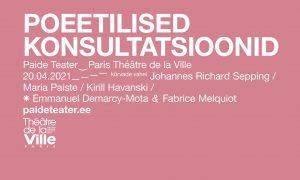 Paide Teater_Poeetilised Konsultatsioonid