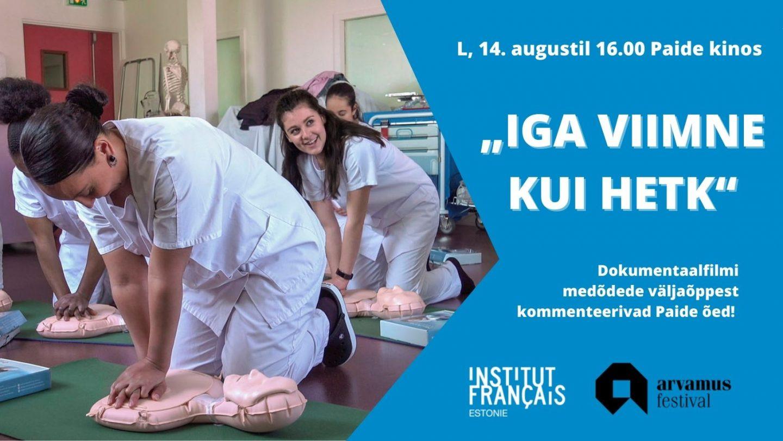 Prantsuse Instituut Arvamusfestival Iga viimne kui hetk
